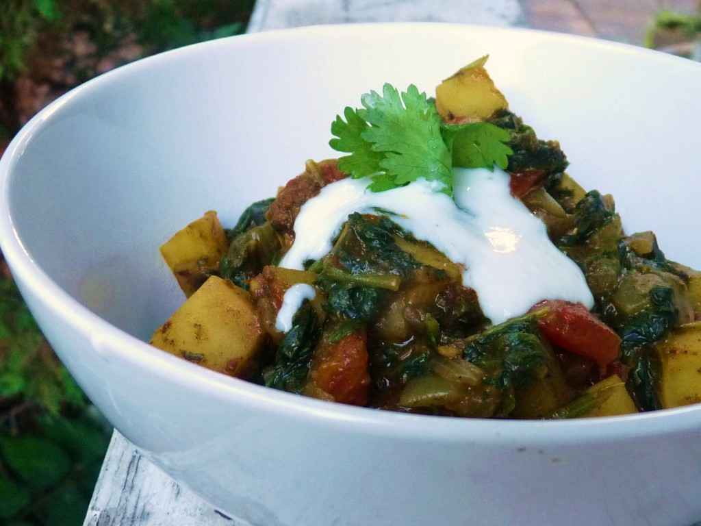 Aloo Palak is a simple, vegetarian Indian dish from Punjab that ...