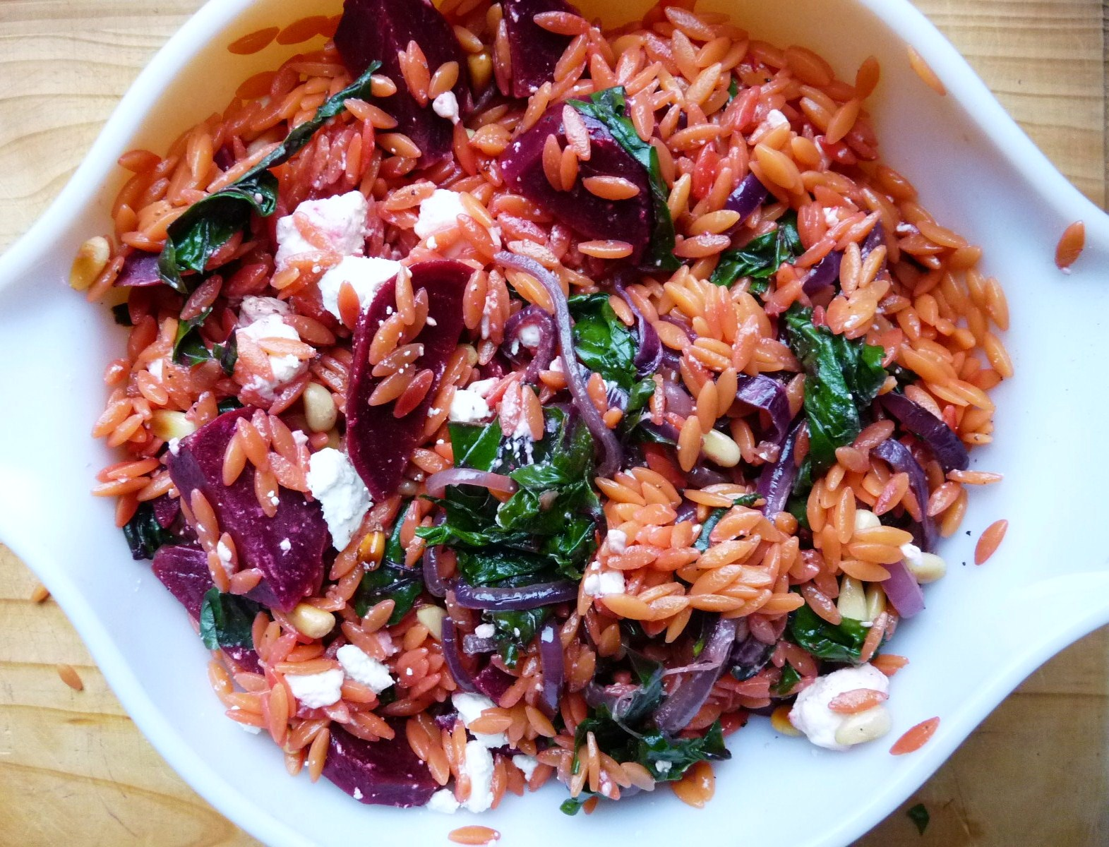 orzo salad greek orzo salad orzo super salad orzo and zucchini salad ...