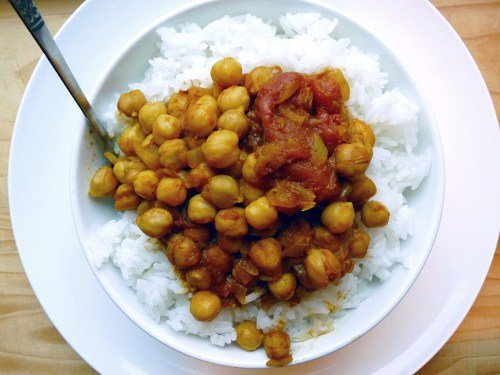 Chana Masala {Chickpea Curry}