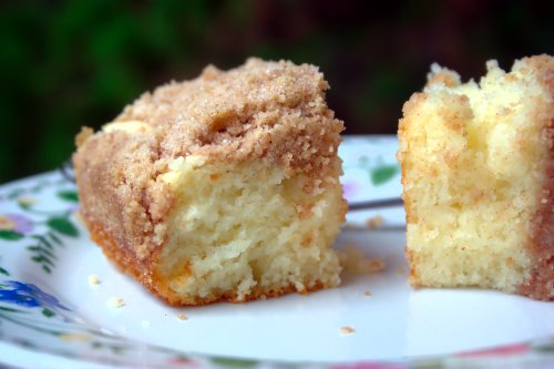 This is a simple cinnamon coffee cake – a great way to ease into ...