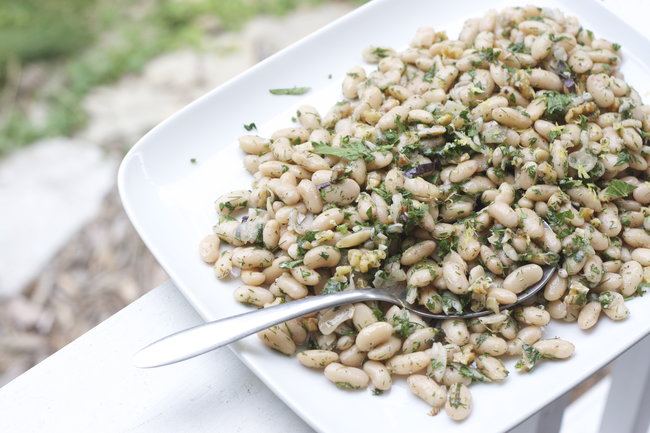 White Beans with Fresh Herbs
