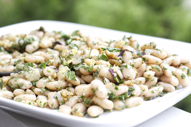 White Beans and Fresh Herbs